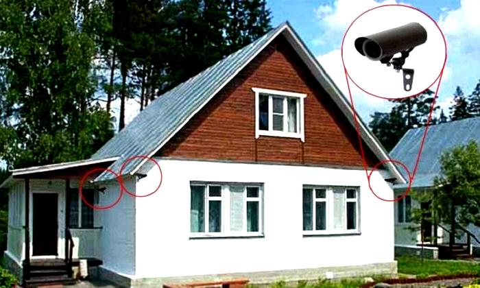 Места установки камер должны быть труднодоступными, но эффективными для выполнения функции наблюдения