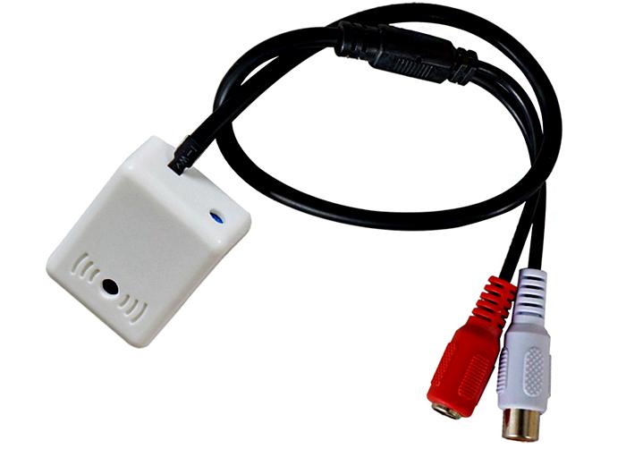 Активный микрофон для камеры видеонаблюдения