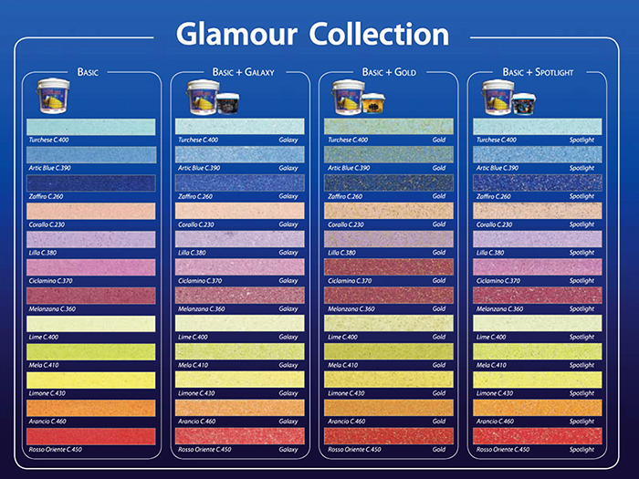 Цветовая палитра коллекции фуги на основе эпоксидной смолы Litokol Litochrom