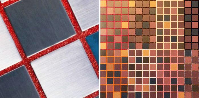 Одной из функций плиточной затирки является декорирование, поэтому выбору цвета уделяется особое внимание