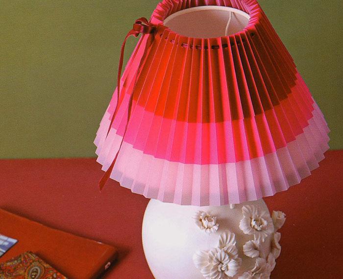 абажур для настольной лампы своими руками фото