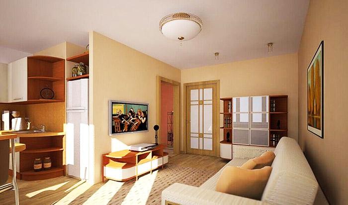 Для любителей создавать простор из комнат маленького размера