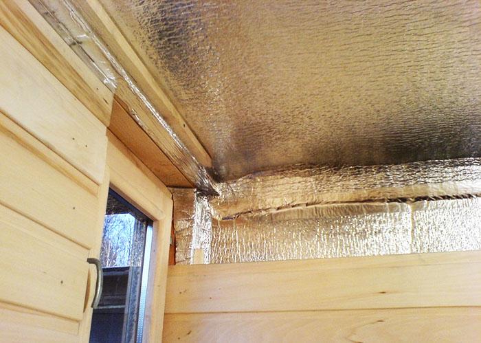 При изоляции потолка стараются использовать индивидуальную технологию