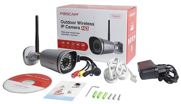 IP-видеокамеру лучше приобретать в официальных торговых точках в полной комплектации