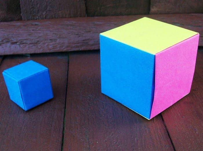 Получается куб