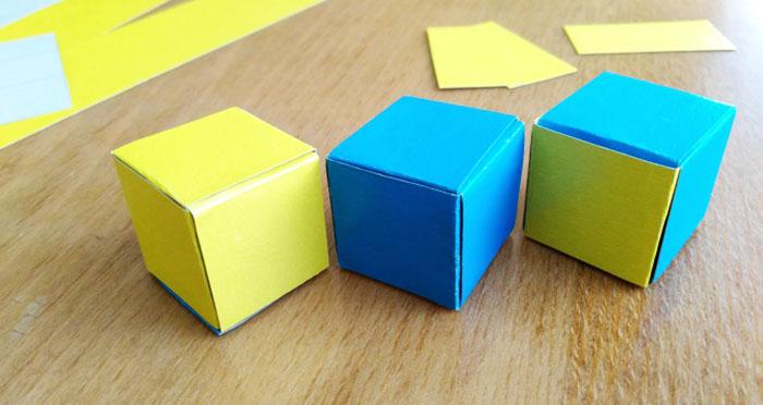 Вот как сделать куб из картона