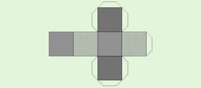 Схема кубика из картона своими руками абсолютно идентична схеме бумажного аналога и может быть воспроизведена даже ребёнком