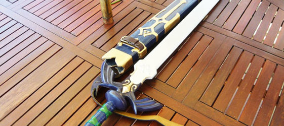 Как сделать меч из дерева и других материалов