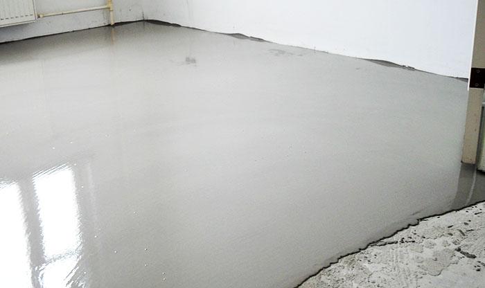 Основным способом подготовки бетонного основания является заливка нивелиром