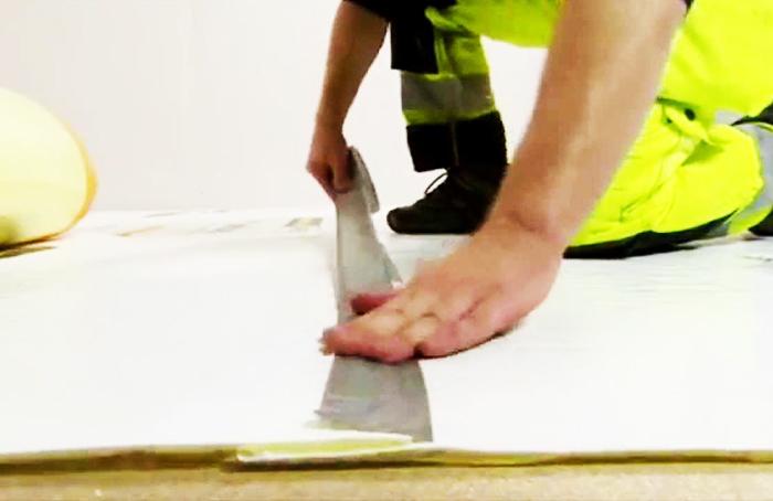 Существуют и специальные шумопоглощающие материалы, к примеру, акустический пол weberfloor