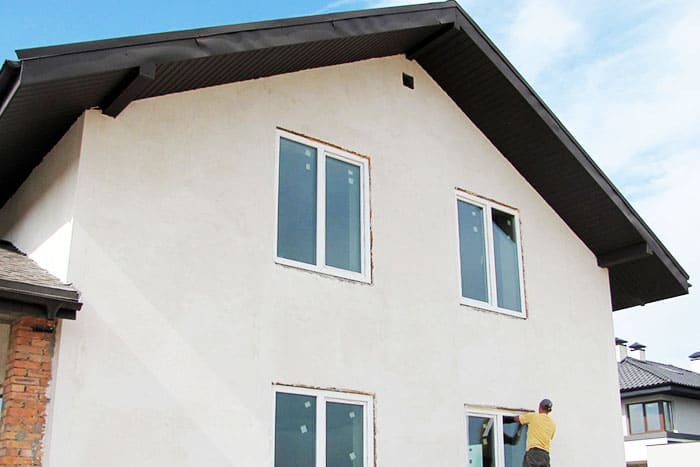 Формирование гладкого фасада осуществляется с помощью правила