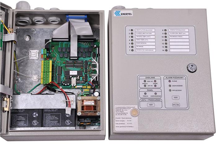 ПКП пожарной сигнализации модель ENERTEL
