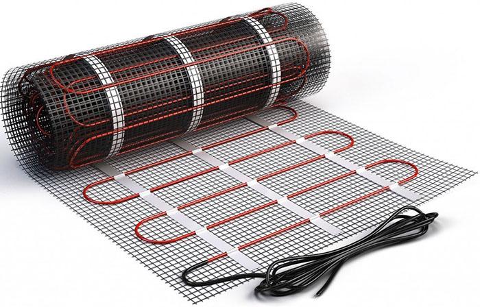 Для электрического тёплого пола не предусмотрены специальные пазы и установки для крепления