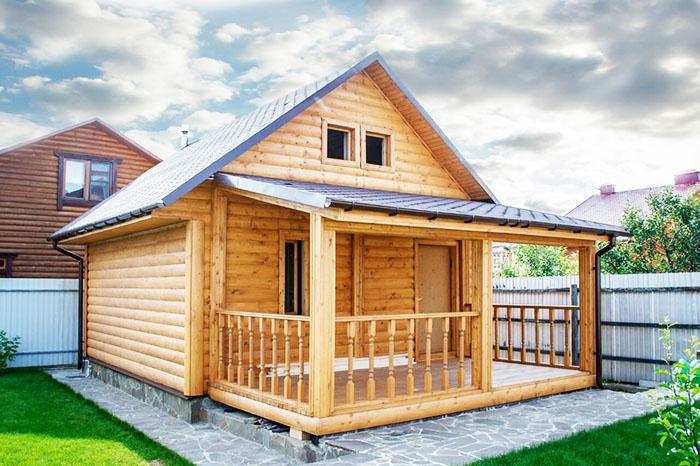Проект наиболее удобен, подходит для летнего и зимнего использования