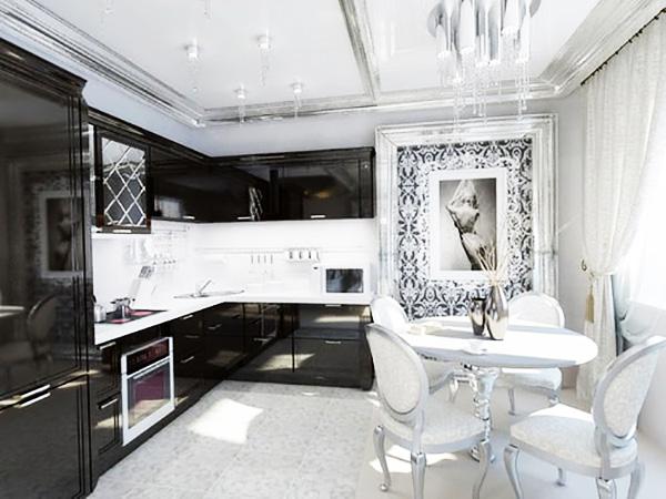 Мебель для обстановки кухни должна включать в себя технические новинки, что поможет максимально организованно подойти к вопросу меблировки