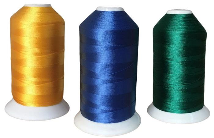 Нитки из полиамидных волокон довольно прочные