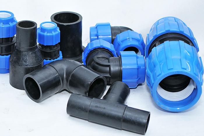 Трубы и фитинги для систем бытовой канализации из полиэтилена ПЭ