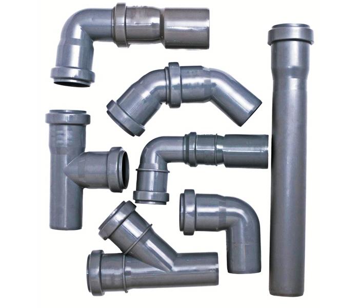 Наиболее распространёнными на данный момент являются трубы из поливинилхлорида