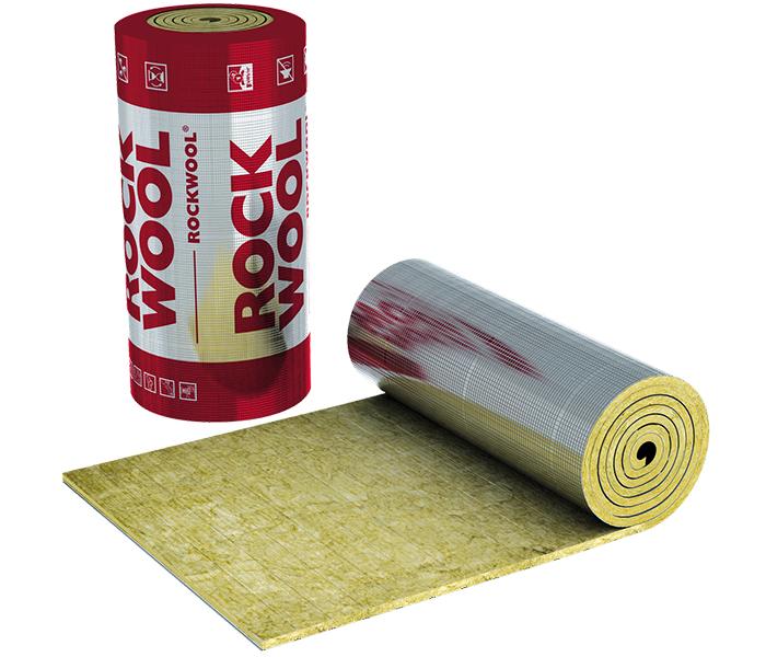 Особой популярностью пользуются рулонные утеплители Rockwool с фольгированной поверхностью