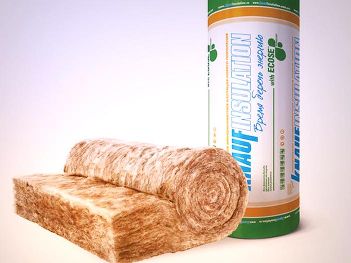 Ассортимент продукции Knauf включает минеральную и базальтовую вату, использующуюся для тепло- и звукоизоляции