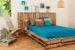 Кровать из поддонов своими руками: пошагово, фото