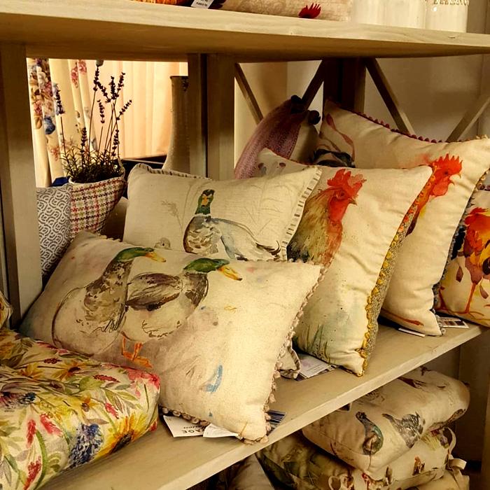 Своеобразный и очень домашний текстиль